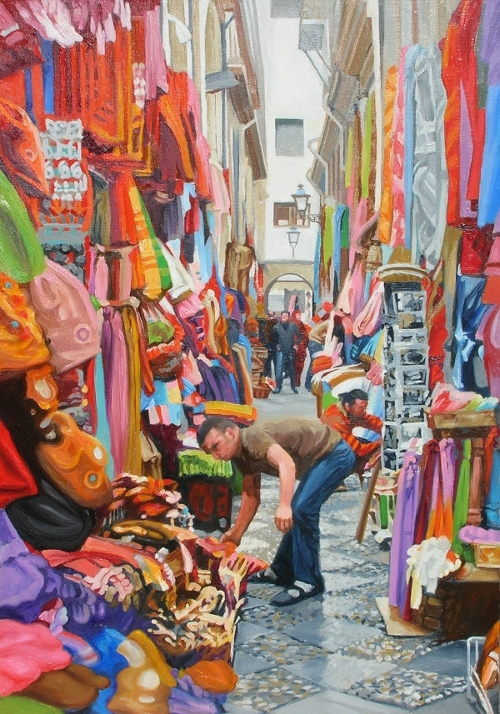 Granada Bazaar, Spain