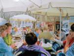 Outdoor Cafe, Granada, Spain